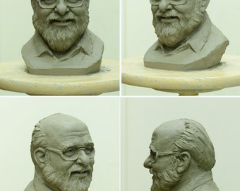 Custom  Clay sculpture (Medium size)