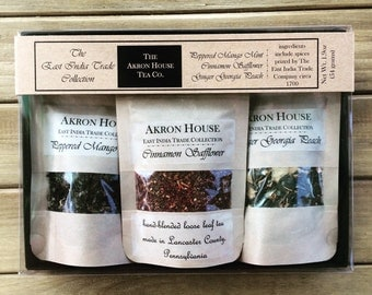 The East India Trade Collection, Akron House Hand-Blended Loose Leaf Tea