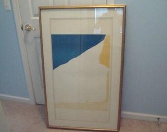 Helen Frankenthaler 1965 pencil signed lithograph