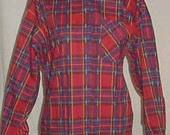 80's VINTAGE SHIRT by APOSTROPHE Med.looks new