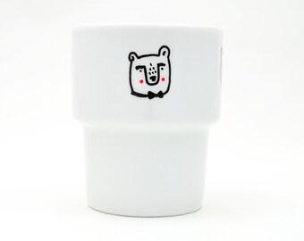 Teddies - handpainted mug