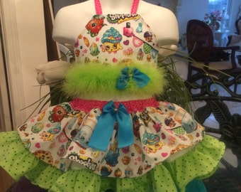 CUSTOM National SHOPKINS PAGEANT Casual Wear 2T - 3T Boutique