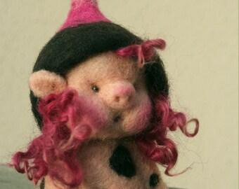 Pigsty Pygmy, finger puppet
