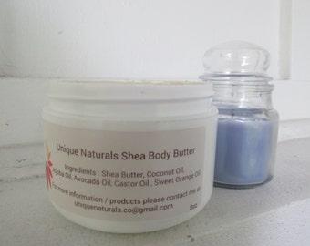 All natural shea butter ( 8 oz )