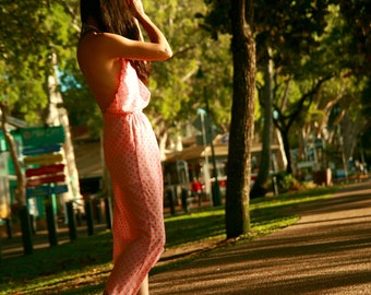 Dotted Maxi dress