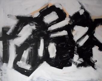 Modern painting 120x100cm / 47.24 x 39, 37