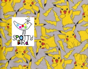 Pokemon Jersey Stretch Fabric UK