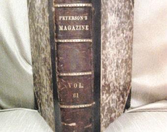 Petersons Magazine Vol 61 1872