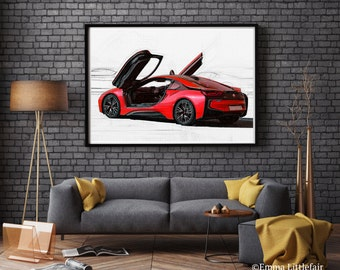 Supercars Art