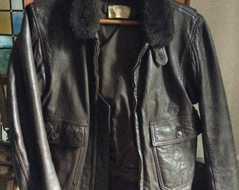 Vintage Flight Jacket G-1 USN 1973