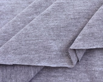 Poly Cotton Jersey Knit Fabric (Wholesale Price Available By The Bolt) USA Made Premium Quality - 2085RH10 - 1 Yard