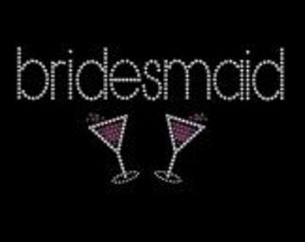 Bridemaids - rhinestones