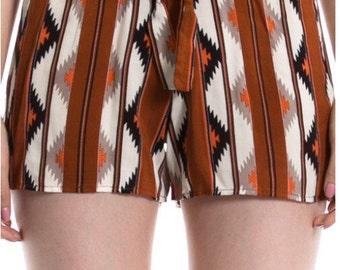 Brow Aztec shorts!
