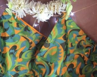 Retro cushion covers. Funky colours. X 2