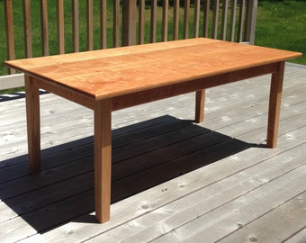 Cherry Coffee Table cherry coffee table | etsy