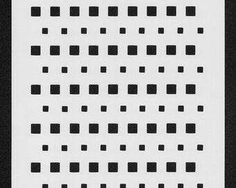 Stencil Set Squares (set of 3)