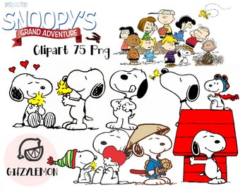 Snoopy and Charlie brown Clipart 75 PNG High Resolution Disney Clipart transparent/party/printable