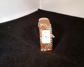 Fashion Watch Made with Swarovski Crystals