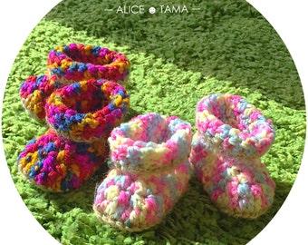 Alicetamahealer baby socks crochet knitting shoes