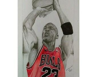 pencil portrait of michael