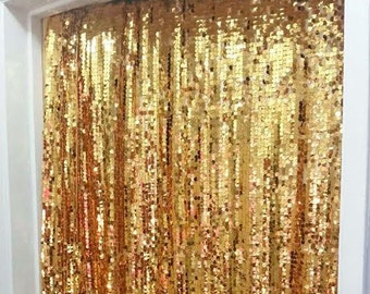 Mardi Gras Party Sequin Backdrop, Champagne, Gold Backdrop, Party Favors, Party Supplies, New Orleans, Fat Tuesday, Jazz Party, Carnival