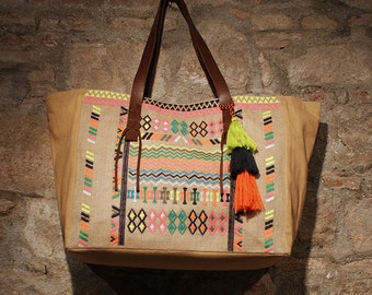 Etnic sac bag