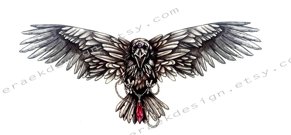 Tre occhi di disegno del tatuaggio corvo game of thrones for Tattoo spalla anteriore