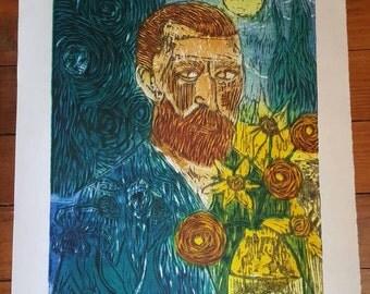 Van Gogh Impression Print