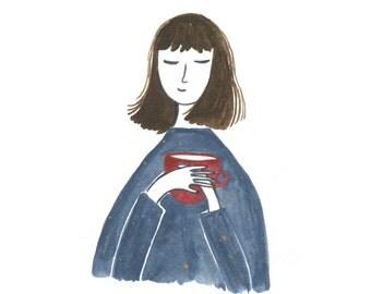 Morning Coffee - Art Print