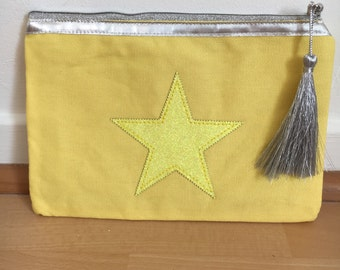Pouch yellow star