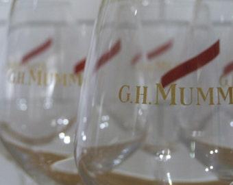 G.H. Mumm Glasses //