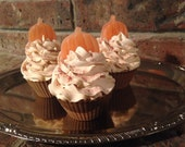Toasted Pumpkin Soap Cupcakes fall gift party favor