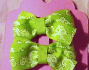 "3""  Piggie bows"