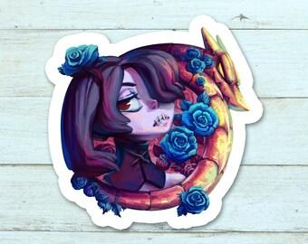 Skullgirls - Squigly ~2x2 Sticker