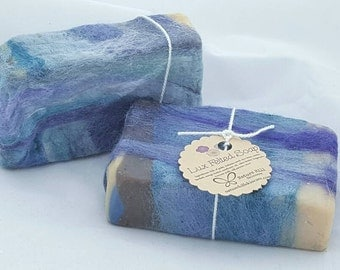 Dragon Moon Lux Felted Soap