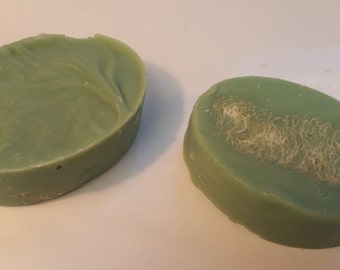 Herbal Essence - Hand made soap, Loofah soap, Cocoa butter, Shea butter