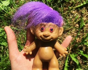Little Troll Purple Hair