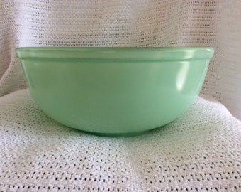 Pyrex Jobling Purser Green Sprayware Very Rare Vintage mixing bowl 4 pint