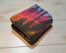 Custom Dyed Cotton Sherpa Fabric - Tie Dye Fabric - Sherpa Fabric - Cotton Sherpa - Hand Dyed Fabric - Dyed Sherpa - Hand Dyed (25)