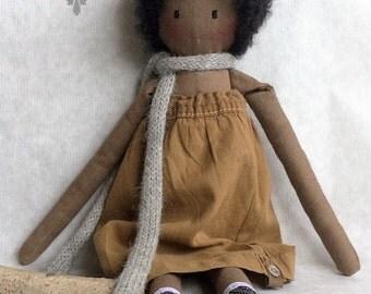 Stofpop Black Doll # 3 Lola
