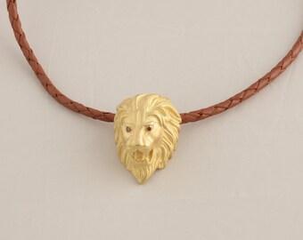 18 k Gold Lion