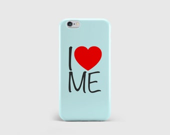 I <3 Me iPhone Case, Typography, Quote, Girls Fashion, Love Heart, Funny Humour Phone Case Cover iPhone 6 iPhone 5 iPhone SE \ hc-pp053