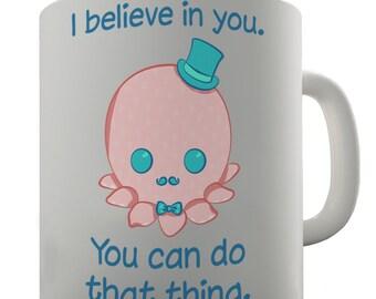Octopus With Top Hat Ceramic Mug