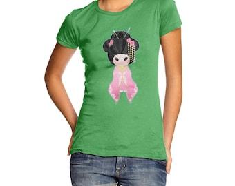 Women's Hanako Pink T-Shirt
