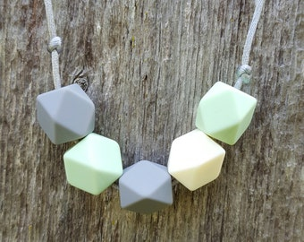 Silicone Teething Necklace no.1
