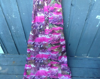 Pink Mountain Dress