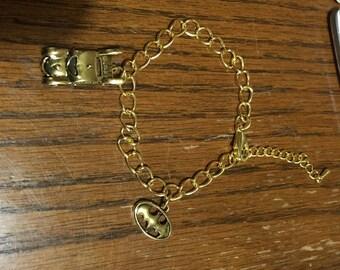 Batman bracelet with authentic DC charms!