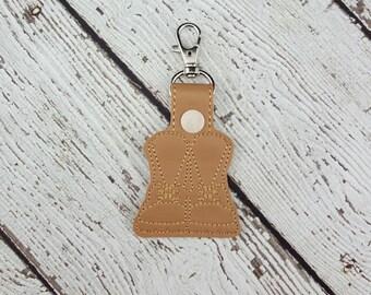 Military Boots Keychain/Zipper Pull
