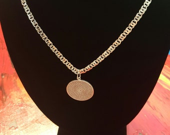 Filigree Handmade silver Necklace from Mompox Colombia !!! 30% DISCOUNT ALL ITEMS!!