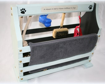 DOG ACCESSORY BOX -  carry storage box for the home or travel